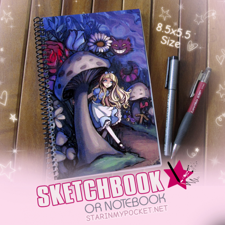 Alice in Wonderland Sketchbook