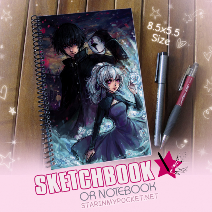 Darker Than Black Sketchbook