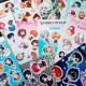 Vinyl Anime Sticker Sheets