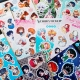 Vinyl Anime Sticker Sheets