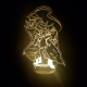 Anime Art Acrylic LED Lamp