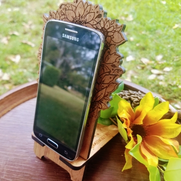 Sunflower Fairy Phone Dock Cherry