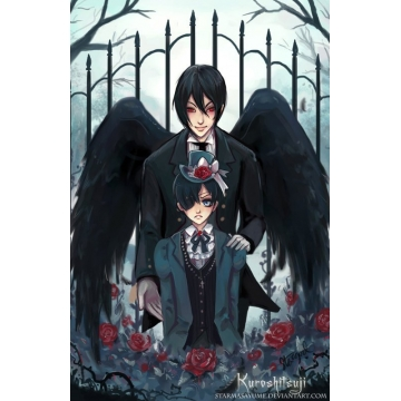 Black Butler Art Print