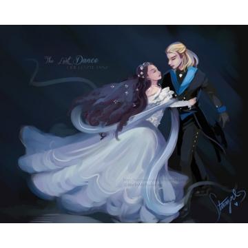 Elisabeth The Last Dance Art Print