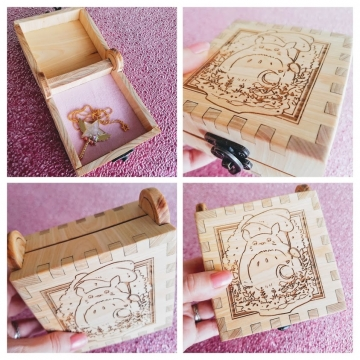 Forest Friend Cypress Engraved Box *Sold
