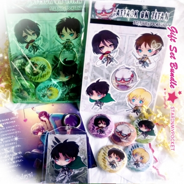 AOT Anime Gift Set