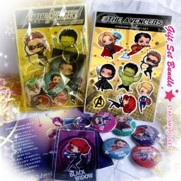 Super Heroes Anime Gift Set