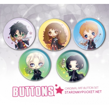 HP Anime Buttons