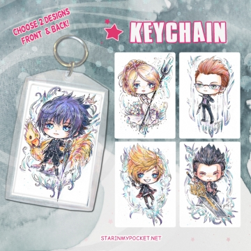 FF15 Keychain Double-Sided