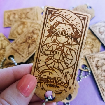 IsekaiCon LIMITED EDITION Engraved Anime Keychain