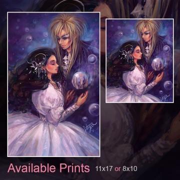 Goblin King Art Print