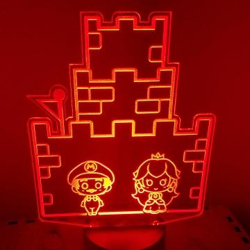 Video Game Chibi LED Lamp