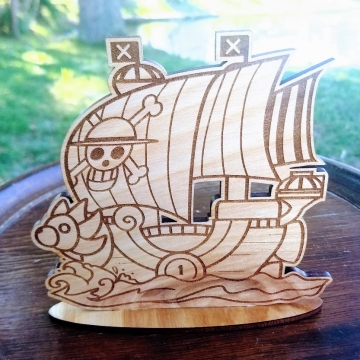 Sunny Pirate Ship Standee