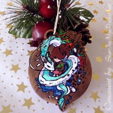 Spirited Christmas Ornament
