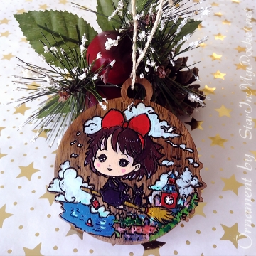 Lil' Witch Christmas Ornament