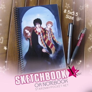 Lumos Sketchbook or Notebook Journal