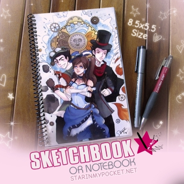Legend of Korra Sketchbook or Notebook Journal