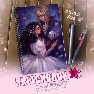 Labyrinth Sketchbook or Notebook Journal