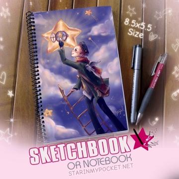 To Light a Star Sketchbook or Notebook Journal