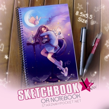 Usagi no Dream Sketchbook or Notebook Journal