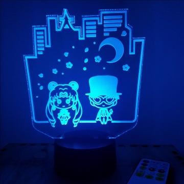 Tokyo Moon Chibi LED Lamp
