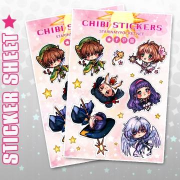 CSS Chibi Stickers