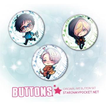 Anime Buttons YOI