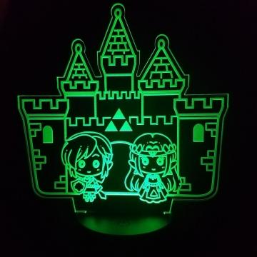 Hyrule Castle LED Lamp